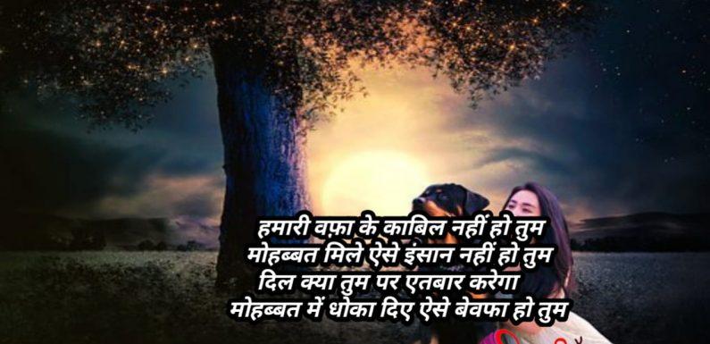 Top Hindi Sad Shayari Teri Yad Me Jra Bhigo Lu